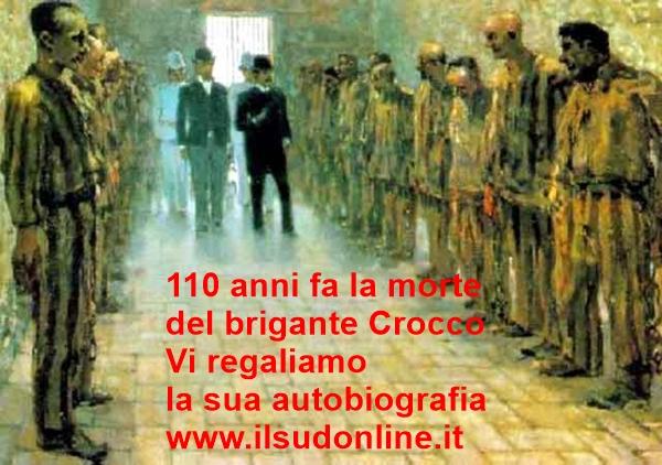 Crocco nel carcere di Portoferrato (il primo a destra)