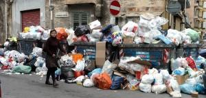 L'emergenza rifiuti a Palermo