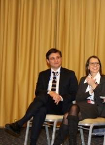 Antonio D'Aniello e Marta Valsecchi