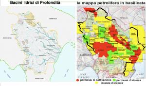 Petrolio e acqua in Basilicata