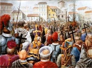 giordano bruno ucciso a Roma