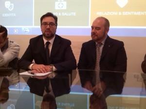 Il Presidente Marco Canale e Avvocato Antonio Bubici (Associazione ANDDOS)