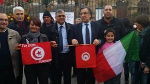 """Palermo, sit-in contro il terrorismo: """"Siamo tutti Tunisia…"""""""