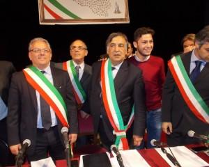 a sinistra Paolo Amenta